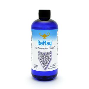 ReMag - The Magnesium Miracle | Magnesio liquido pico-ionico della Dr. Dean - 480ml
