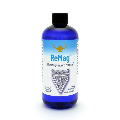 ReMag - The Magnesium Miracle   Magnesio liquido pico-ionico della Dr. Dean - 480ml