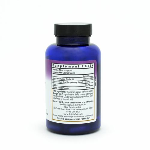 Flora ReVive - Probiotico con estratti di torba - Capsule