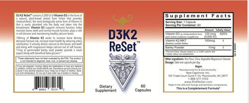 D3K2 ReSet - Vitamina D - Capsule