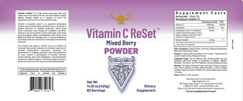 Vitamin C ReSet - Vitamina C - Bevanda in polvere