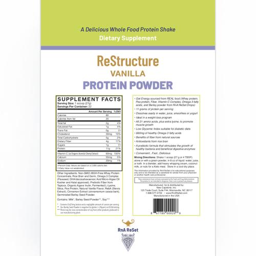 ReStructure - Proteine in polvere - Vaniglia