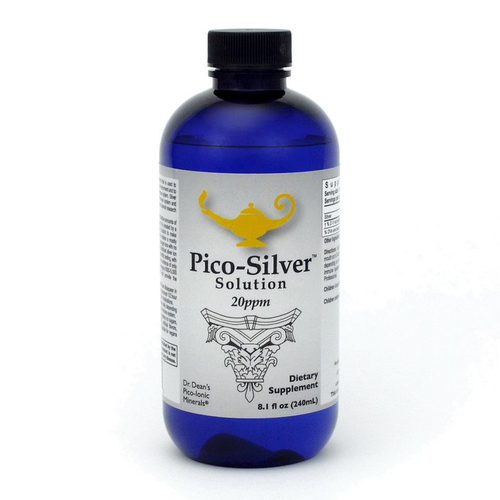 Pico-Silver Solution   Soluzione d'argento pico-ionica della Dr. Dean - 240ml